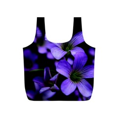 Springtime Flower Design Full Print Recycle Bags (s)  by timelessartoncanvas