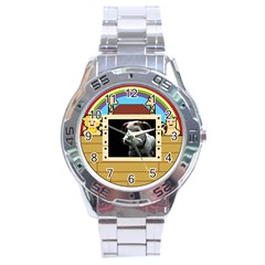 But The Pit Bull Stainless Steel Men s Watch by ButThePitBull