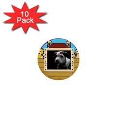But The Pit Bull 1  Mini Buttons (10 Pack)  by ButThePitBull