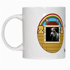 But The Pit Bull White Mugs by ButThePitBull