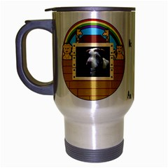 But The Pit Bull Travel Mug (silver Gray) by ButThePitBull
