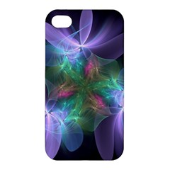 Ethereal Flowers Apple Iphone 4/4s Hardshell Case by Delasel