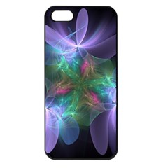 Ethereal Flowers Apple Iphone 5 Seamless Case (black) by Delasel