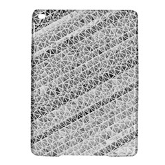 Silver Abstract And Stripes Ipad Air 2 Hardshell Cases by timelessartoncanvas