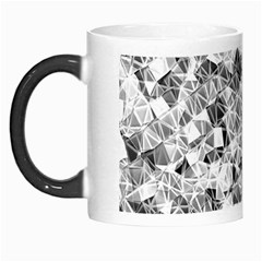 Silver Abstract Design Morph Mugs by timelessartoncanvas