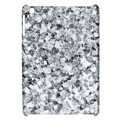 Silver Abstract Design Apple Ipad Mini Hardshell Case by timelessartoncanvas