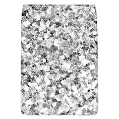 Silver Abstract Design Flap Covers (l)  by timelessartoncanvas