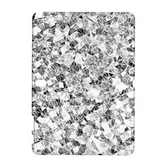 Silver Abstract Design Samsung Galaxy Note 10 1 (p600) Hardshell Case by timelessartoncanvas