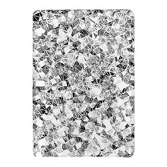 Silver Abstract Design Samsung Galaxy Tab Pro 10 1 Hardshell Case by timelessartoncanvas