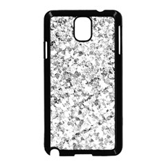 Silver Abstract Design Samsung Galaxy Note 3 Neo Hardshell Case (black) by timelessartoncanvas