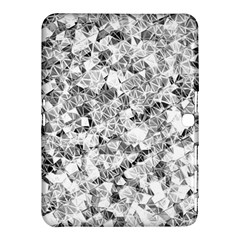 Silver Abstract Design Samsung Galaxy Tab 4 (10 1 ) Hardshell Case  by timelessartoncanvas