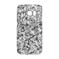 Silver Abstract Design Galaxy S6 Edge by timelessartoncanvas
