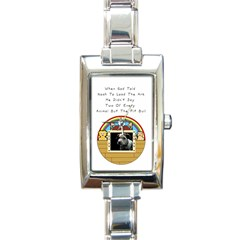 But The Pit Bull Rectangle Italian Charm Watches by ButThePitBull