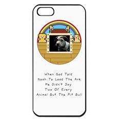 But The Pit Bull Apple Iphone 5 Seamless Case (black) by ButThePitBull