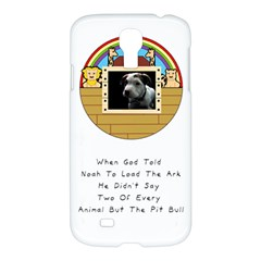 But The Pit Bull Samsung Galaxy S4 I9500/i9505 Hardshell Case by ButThePitBull