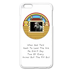 But The Pit Bull Apple Iphone 6 Plus/6s Plus Enamel White Case by ButThePitBull