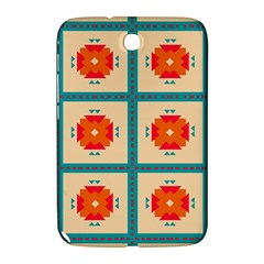 Shapes In Squares Pattern 			samsung Galaxy Note 8 0 N5100 Hardshell Case by LalyLauraFLM