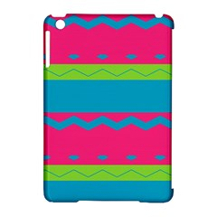 Chevrons And Stripes  			apple Ipad Mini Hardshell Case (compatible With Smart Cover) by LalyLauraFLM