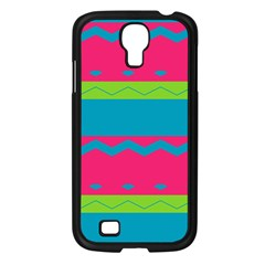 Chevrons And Stripes  			samsung Galaxy S4 I9500/ I9505 Case (black) by LalyLauraFLM
