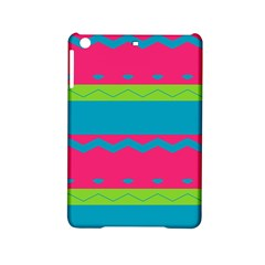 Chevrons And Stripes  			apple Ipad Mini 2 Hardshell Case by LalyLauraFLM
