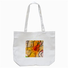 Red Spot Tote Bag (white)