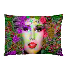Flowers In Your Hair Pillow Cases by icarusismartdesigns