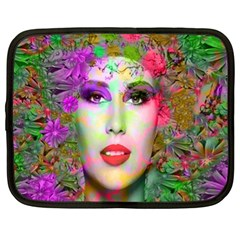 Flowers In Your Hair Netbook Case (xl)  by icarusismartdesigns