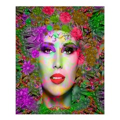 Flowers In Your Hair Shower Curtain 60  X 72  (medium)  by icarusismartdesigns