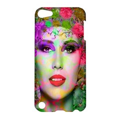 Flowers In Your Hair Apple Ipod Touch 5 Hardshell Case by icarusismartdesigns
