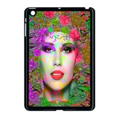 Flowers In Your Hair Apple Ipad Mini Case (black) by icarusismartdesigns