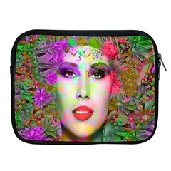 Flowers In Your Hair Apple Ipad 2/3/4 Zipper Cases by icarusismartdesigns