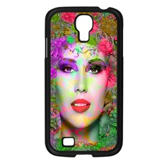Flowers In Your Hair Samsung Galaxy S4 I9500/ I9505 Case (black) by icarusismartdesigns
