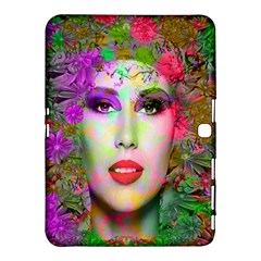 Flowers In Your Hair Samsung Galaxy Tab 4 (10 1 ) Hardshell Case  by icarusismartdesigns