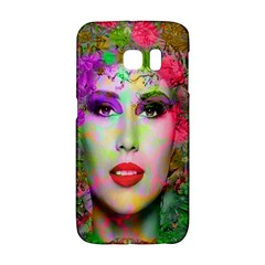 Flowers In Your Hair Galaxy S6 Edge by icarusismartdesigns