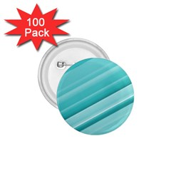 Teal And White Fun 1 75  Buttons (100 Pack)  by timelessartoncanvas
