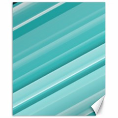 Teal And White Fun Canvas 16  X 20   by timelessartoncanvas