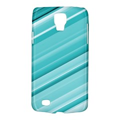 Teal And White Fun Galaxy S4 Active by timelessartoncanvas