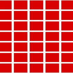Red Cubes Stripes Magic Photo Cubes by timelessartoncanvas