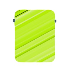Bright Green Stripes Apple Ipad 2/3/4 Protective Soft Cases by timelessartoncanvas