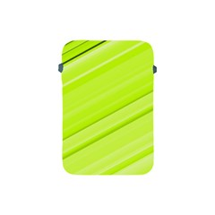 Bright Green Stripes Apple Ipad Mini Protective Soft Cases by timelessartoncanvas