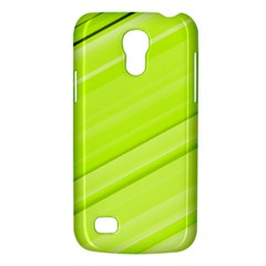 Bright Green Stripes Galaxy S4 Mini by timelessartoncanvas