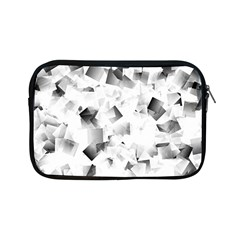 Gray And Silver Cubes Abstract Apple Ipad Mini Zipper Cases by timelessartoncanvas