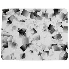 Gray And Silver Cubes Abstract Jigsaw Puzzle Photo Stand (rectangular) by timelessartoncanvas