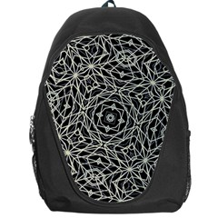 Polygons Pattern Print Backpack Bag by dflcprints