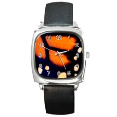 Butterfly Design 2 Square Metal Watches