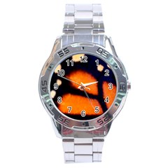 Butterfly Design 3 Stainless Steel Men s Watch by timelessartoncanvas