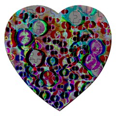 A Dream Of Bubbles 2 Jigsaw Puzzle (heart) by sirhowardlee