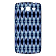 Blue White Diamond Pattern  Samsung Galaxy Mega 5 8 I9152 Hardshell Case  by Costasonlineshop