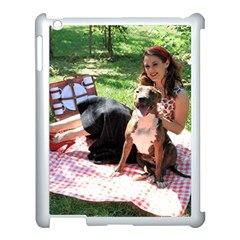 Pittie Picnic 2011 Apple Ipad 3/4 Case (white) by ButThePitBull