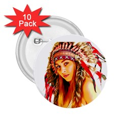 Indian 26 2 25  Buttons (10 Pack)  by indianwarrior